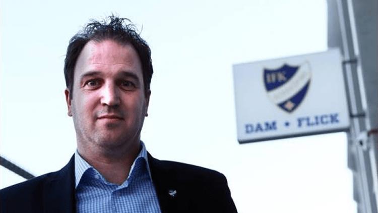 Han blir ny klubbdirektör i IFK DAM