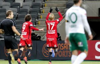 Holmberg snuvade Bajen på segern