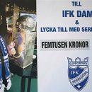 Stort tack till IFK Norrköpings supporterklubb