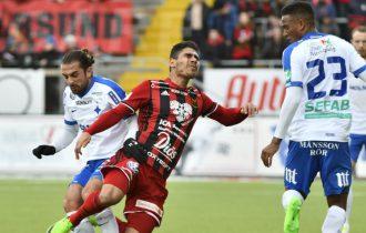 Hosam Aiesh sänkte IFK Norrköping med matchens enda mål.