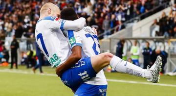 Vackert mål av månadens spelare när Norrköping slog Blåvitt